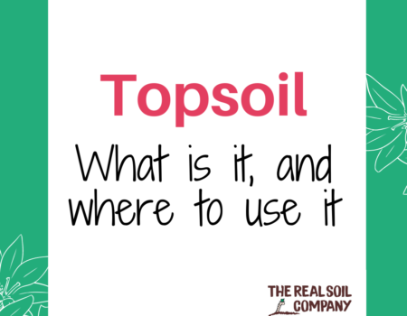 Topsoil – what is it, and where to use it