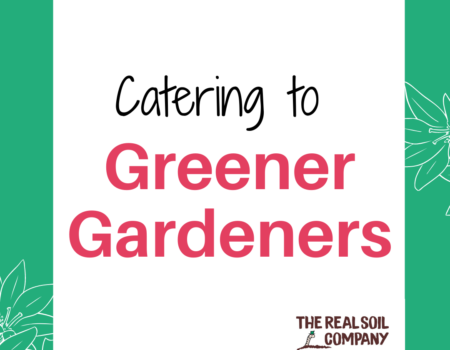 Catering to the greener gardeners of the future